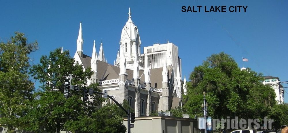 Salt Lake City eglise mormone