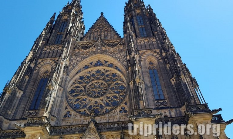 Prague visite cathedrale