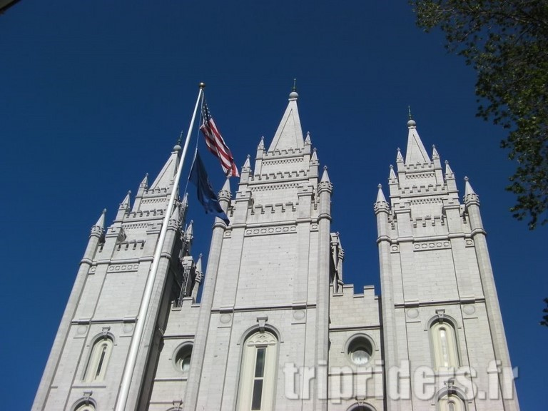 salt lake city eglise mormone de temple square